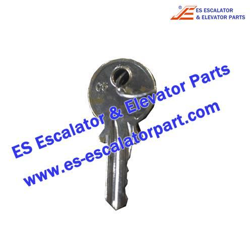 Thyssenkrupp Escalator C5 key