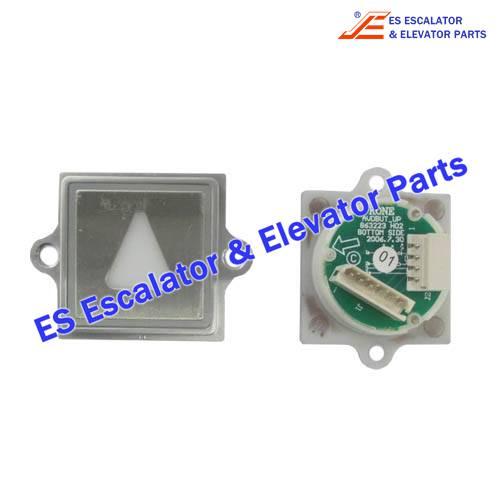 KONE Elevator KM871906G17 Button