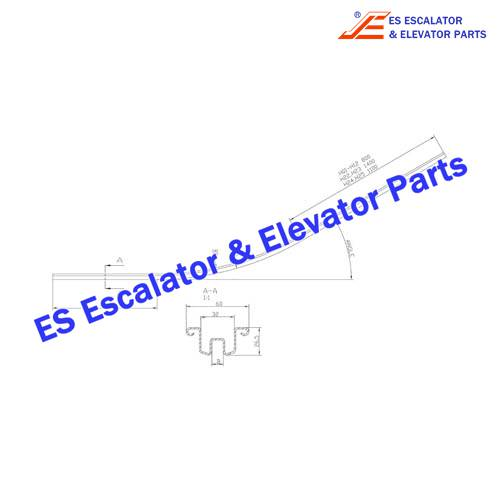 KONE Escalator KM5070660H09 Guide