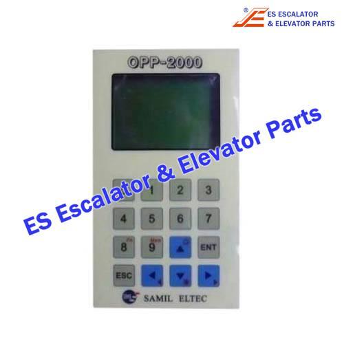 Escalator OPP-2000 Service Tool LTT-2