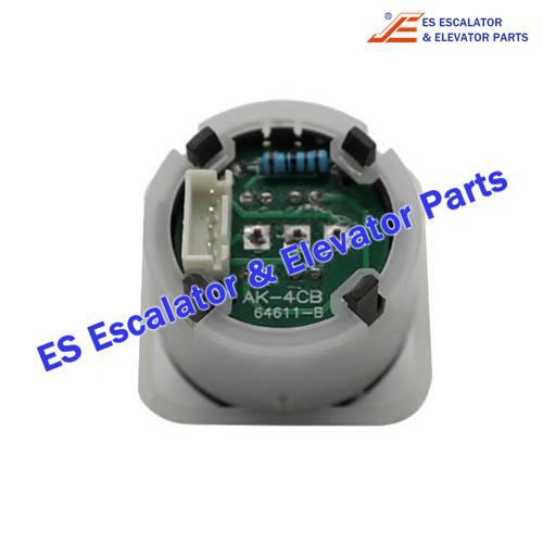 <b>Hitachi Elevator AK-4CB Button</b>