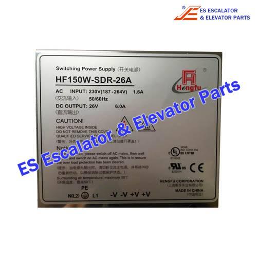schindler Elevator HF150W-SDR-26A 55503909 Emergency Power Supply