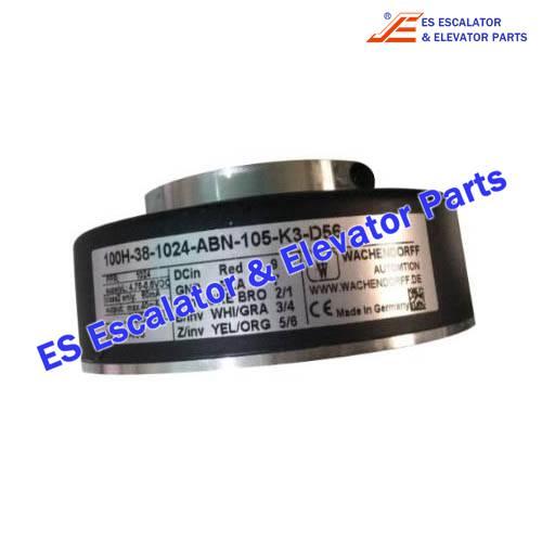 Thyssenkrupp Escalator 100H-38-1024-ABN-I05-K3-D56 Encoder