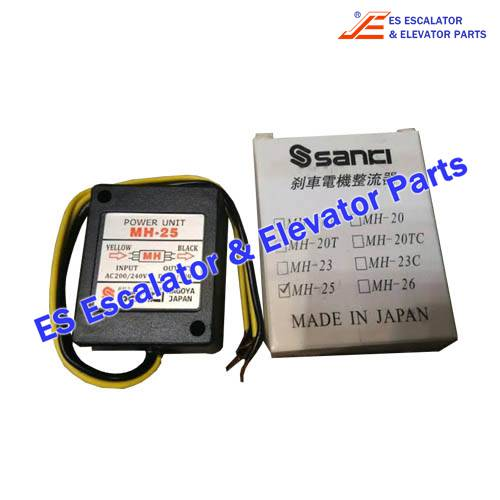Escalator MH-25 Brake motor rectifier
