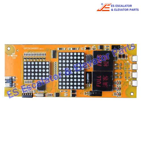 <b>BLT Elevator GPCS4344D001 PCB</b>