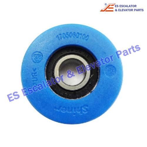 Escalator 6204 Step Chain Roller 75*24mm