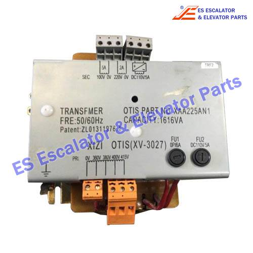 OTIS Elevator XAA225AN1 transformer