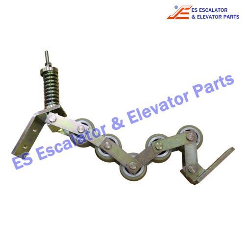Escalator ASA00B176*B Handrail pressure roller chain