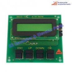 <b>Elevator 590768 PCB SMLCD 1Q</b>