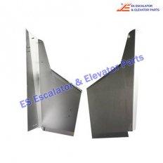 <b>GAA402CAB22 Escalator Handrail Inlet Shell</b>